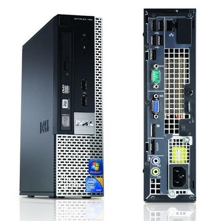 computador dell optiplex 780 usff core 2 duo 3,0 ghz, lcd 19