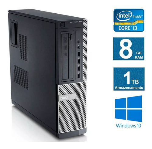 computador  dell optiplex 790 i3 8gb 1tb
