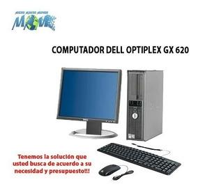 Computador Dell Optiplex Gx620 / Dual Core Ram 2gb/dd 80gb
