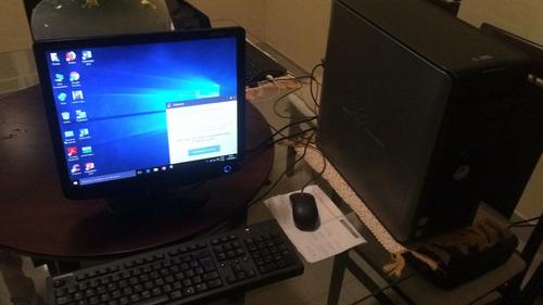 computador dell - seminovo - cpu + monitor - 799,00