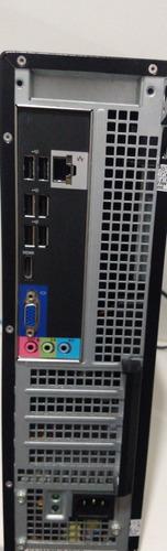 computador dell slim core i3 +monitor 17 +teclado +mause