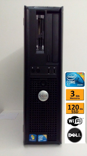 computador desktop cpu dell optiplex780 2.93ghz 3gb ssd120gb
