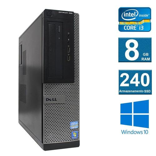 computador desktop dell optiplex 390 i3 8gb 120ssd