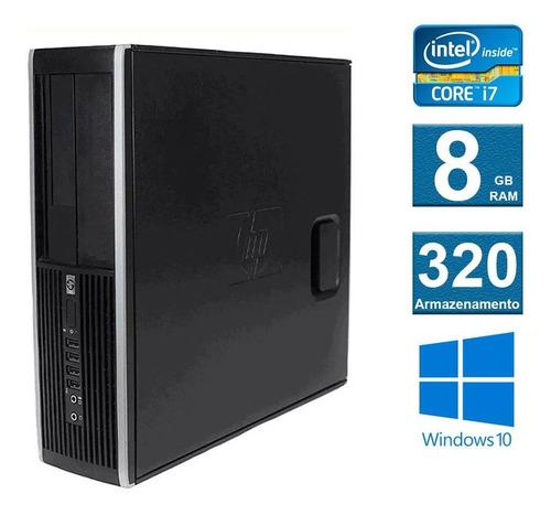computador desktop  hp elite 8200 i7 8gb 320gb