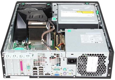 computador desktop hp elite intel 4gb ddr3 250gb w10 pro