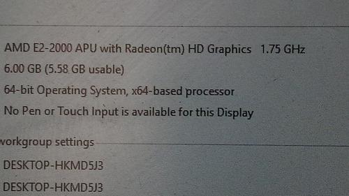 computador desktop hp pavillion all in one 23 aio 6gb