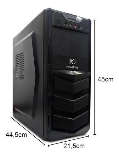 computador desktop intermediario 1155 i3 4gb 1tb pc