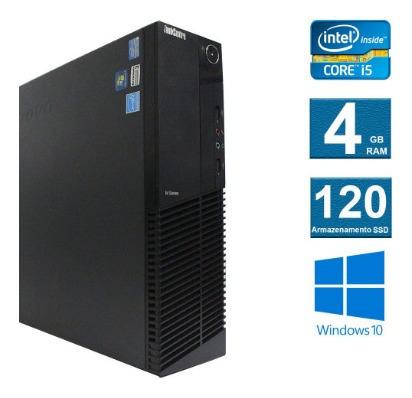 computador desktop lenovo thinkcenter m92 i5 4gb 120ssd