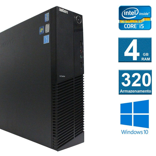 computador desktop lenovo thinkcenter m92 i5 4gb 320hd