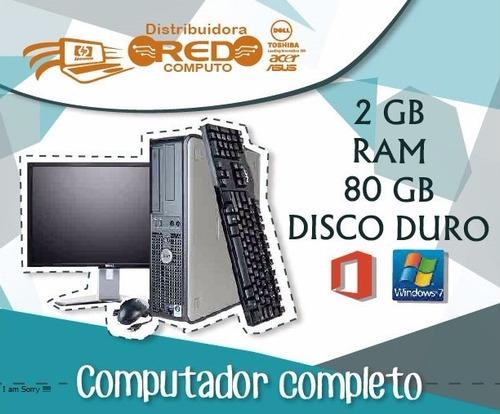 computador dual core-2gb ideales colegio-café internet-hogar