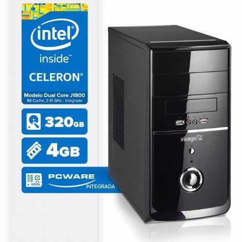 computador dual core / 4gb ram / hd 320gb / hdmi