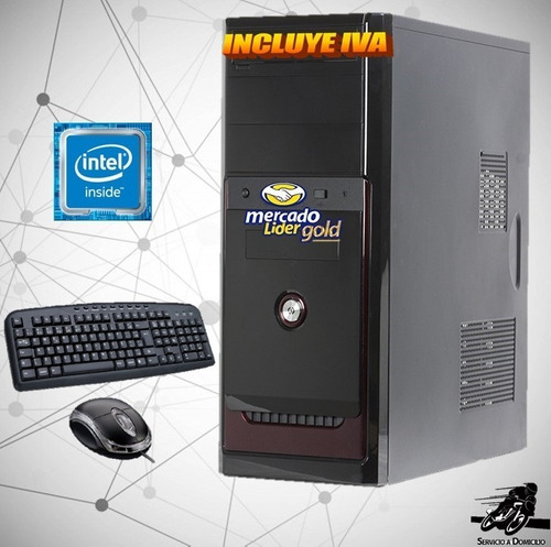 computador dual core nueva generacion 500 4gb cpu, i3/i5/i7