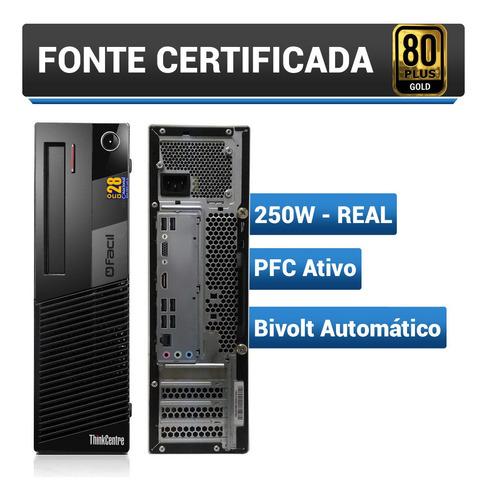 computador fácil intel core i5 2.70ghz 4gb ddr3 ssd 240gb