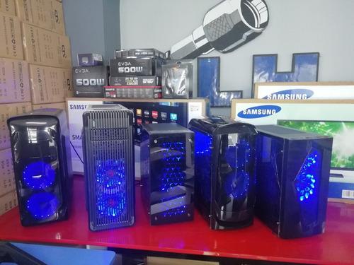 computador gamer core i3 tv gtx1050 2gb dd 500gb m4g ,i5,i7