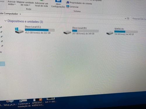 computador gamer i7  7700k - completo - com monitor gamer -