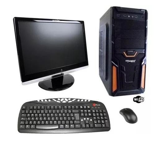 computador gamer monitor lcd 19'' teclado mouse