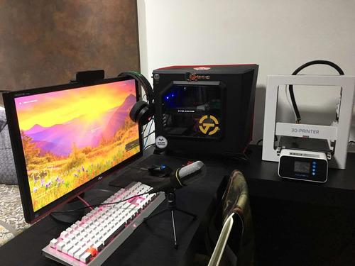 computador gamer + monitor + utilitários