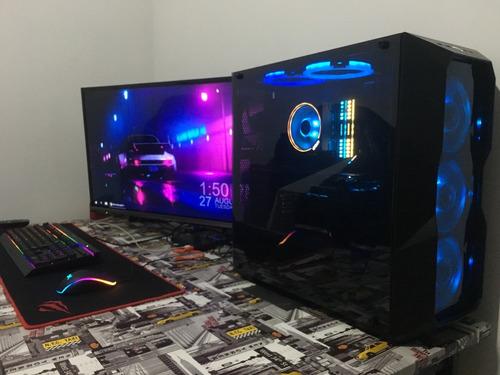 computador gamer ryzen 7 2700x 1660 ti 6gb gddr6