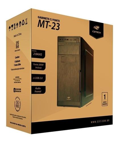 computador hd 1tb memoria 4gb ddr3 processador x4 + kit multimidia