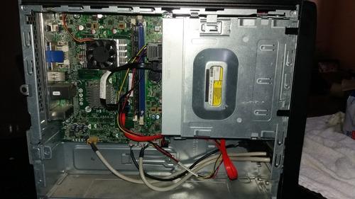 computador hp 100b small - mini torre - amd 2gb ram *sem hd*