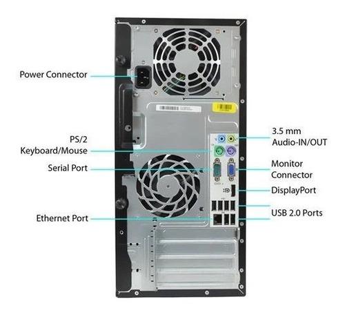 computador hp 6000 core 2 duo 7500 4gb ram hd 320gb