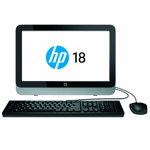 computador hp all in one 18,5  celeron j1800 4gb 1tb 18-5011