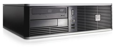computador hp amd 2.4ghz  4gb ddr2  500gb seminovo + wif!!