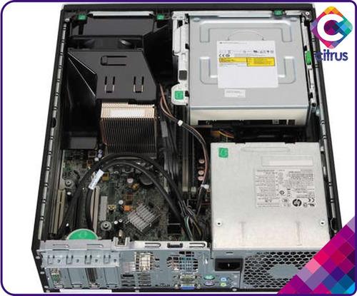 computador hp compaq core2 duo, mon17,tec,mou, dd80gb, 2gb