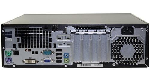 computador hp cpu intel i3 500gb, 4gb ram 4ta gen clase a