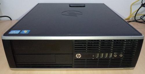 computador hp elite 8200 core i5 + monitor hp + 500gb + 4gb