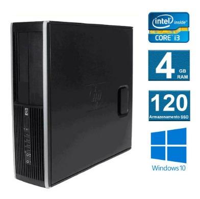 computador hp elite 8300 i3 4gb (120ssd novo) frete grátis