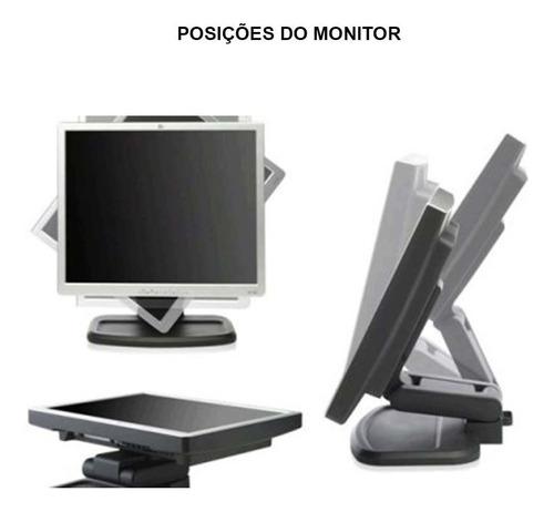 computador hp elite core 2 quad 2gb 160gb monitor 17