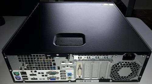 computador hp elitedesk 800 g1 sff i7 4770 8gb 500gb win7