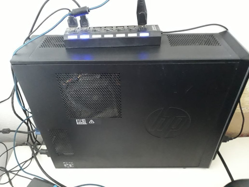 computador hp pavilion slimline s5-1450br 6gb i5  blu ray