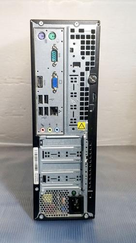 computador hp pro 3410 - core 4gb 250gb hdmi - com garantia