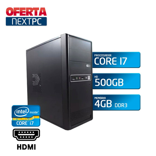 computador intel core 500gb
