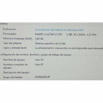 computador intel core i3 / 2gb/ 320gb/ led 16 cyber hogar