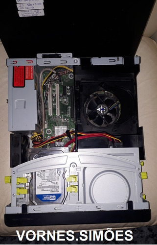 computador intel core  i5, hd 320 de gigas, 2 gb de memória