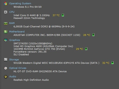 computador intel core i5,6gb ram,hd 1 tb,geforce gtx 750