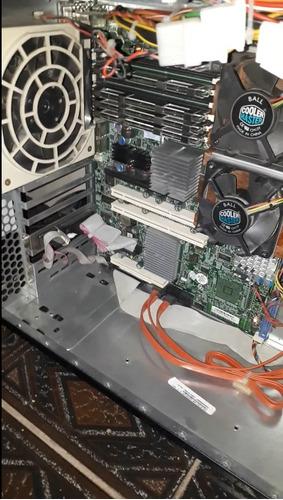 computador itautec lx202 2x xeon 8gb ram hd160gb pc/servidor