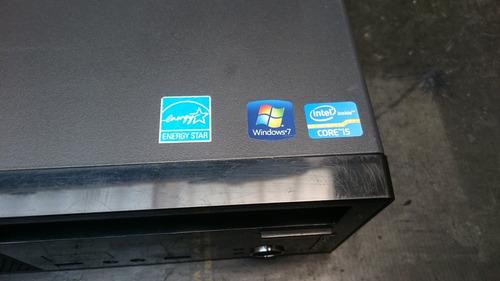 computador lenovo thinkcentre edge core i5 4gb ram