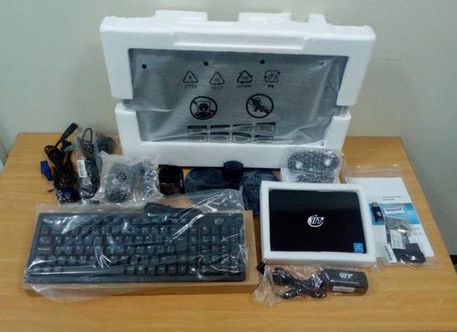 computador mini pc m2100 intel 2gb ram 500gb hdd monitor 19