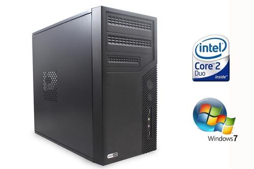 computador montado novo intelcore 2 duo 2gbram 320gb hd lol
