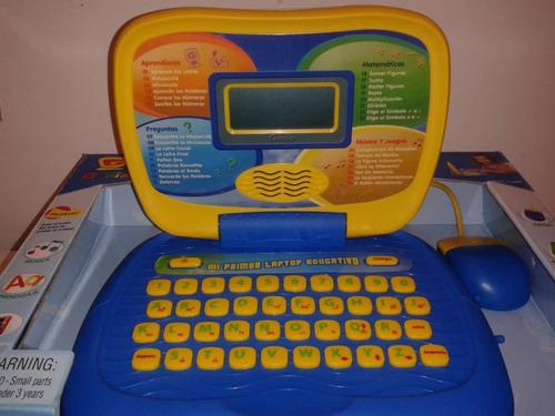 computador niño mi primer laptop educativo 30 actividades
