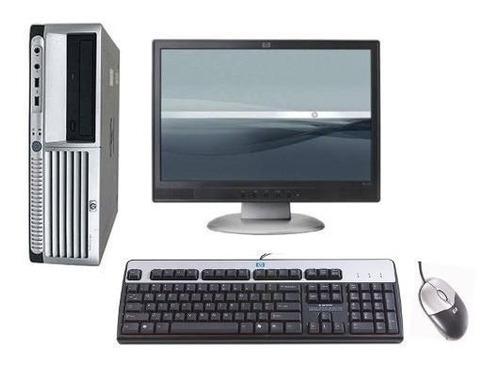 computador pc cpu barato+monitor 2gb hd320gb wifi
