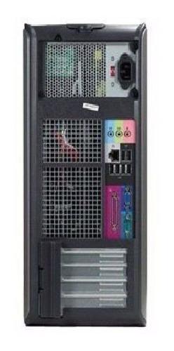 computador pc cpu dell torre core 2 duo 4gb ddr2 80gb