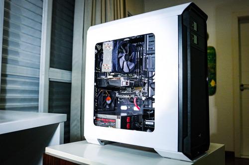 computador pc gamer com i7 6700k, 16gb ram, gtx 1060, ssd+hd