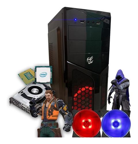 computador pc gamer i5 8gb hd 500 placa de vídeo gt 1030 2gb