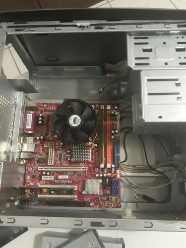 computador positivo pctv - intel celeron (veja descrição)