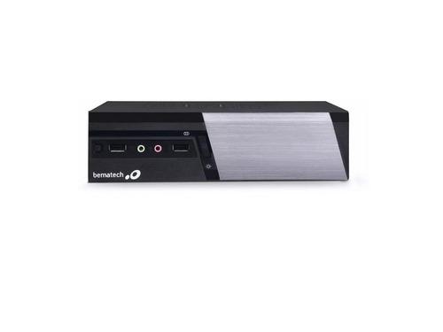 computador rc-8400 4 gb ram/  1 tb hd bematech mini + nf